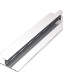 H-joint trim for pvc panels